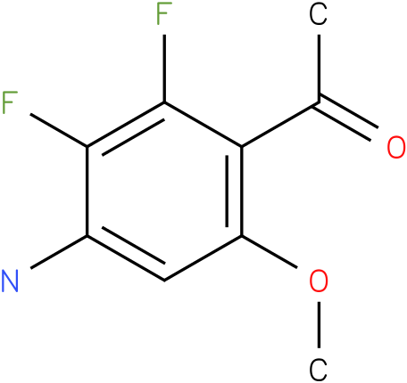 1-(4-Amino-2,3-difluoro-6-methoxy-phenyl)-ethanone