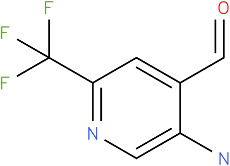 5-Amino-2-trifluoromethyl-pyridine-4-carbaldehyde