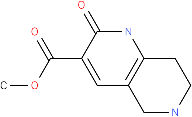 2-hydroxy-5,6,7,8-tetrahydro-[1,6]naphthyridine-3-carboxylic acid methyl ester