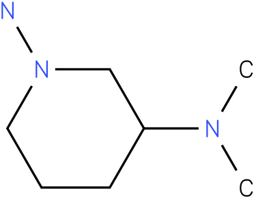 N3,N3-Dimethyl-piperidine-1,3-diamine