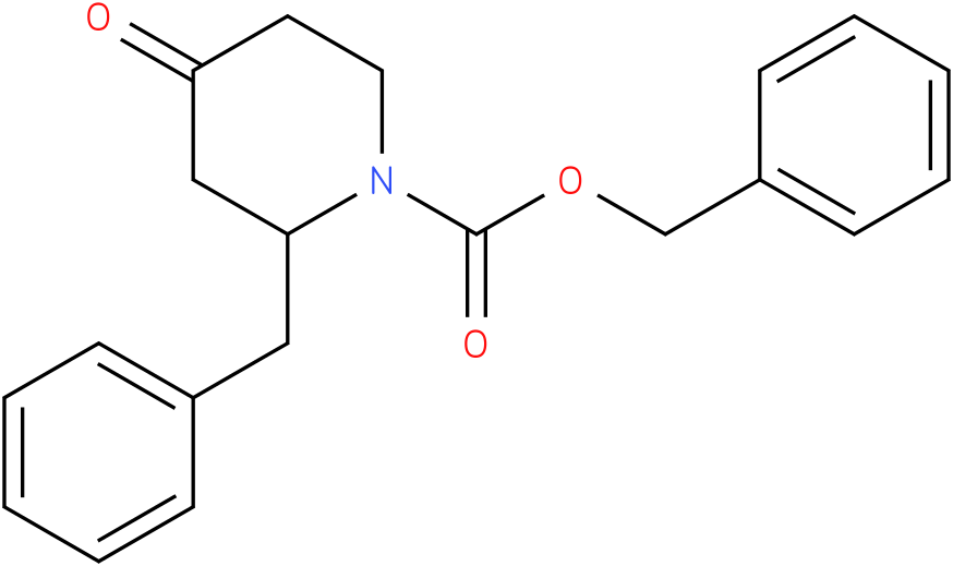 N-1-Cbz-2-benzyl piperidin-4-one
