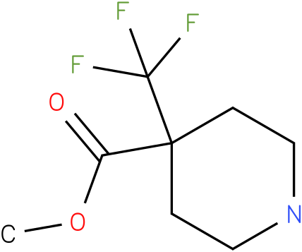 4-Trifluoromethyl-piperidine-4-carboxylic acid methyl ester