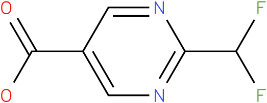2-difluoromethyl-pyrimidine-5-carboxylic acid