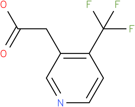 (4-Trifluoromethyl-pyridin-3-yl)-acetic acid