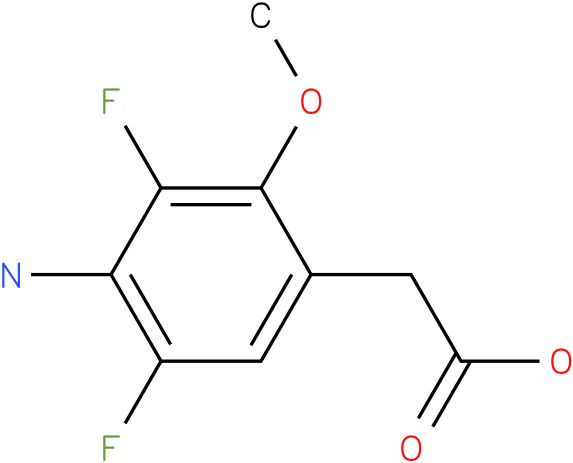 (4-Amino-3,5-difluoro-2-methoxy-phenyl)-acetic acid