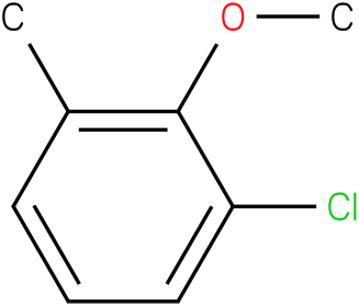 1-chloro-2-methoxy-3-methylbenzene