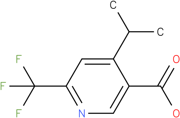4-Isopropyl-6-trifluoromethyl-nicotinic acid