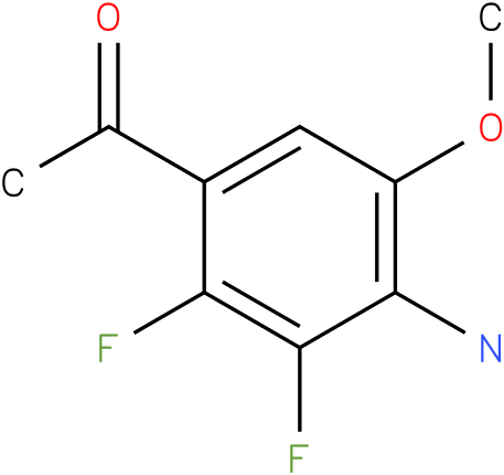 1-(4-Amino-2,3-difluoro-5-methoxy-phenyl)-ethanone