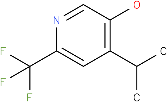 4-Isopropyl-6-trifluoromethyl-pyridin-3-ol