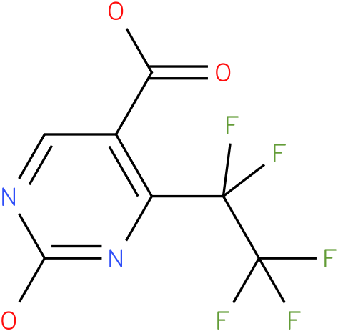 2-hydroxy-6-pentafluoroethyl-pyrimidine-5-carboxylic acid