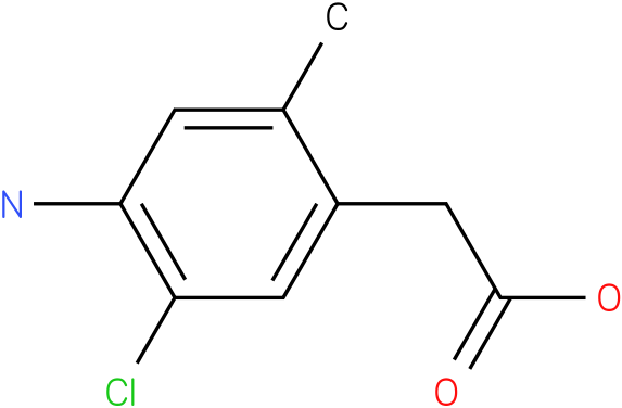 2-(4-amino-5-chloro-2-methylphenyl)acetic acid
