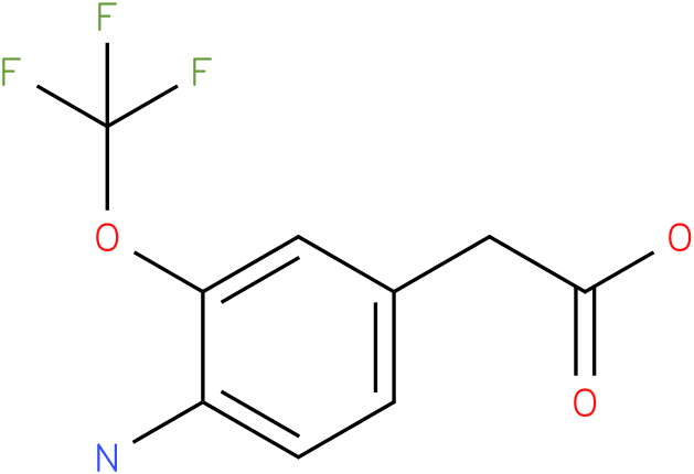 (4-Amino-3-trifluoromethoxy-phenyl)-acetic acid