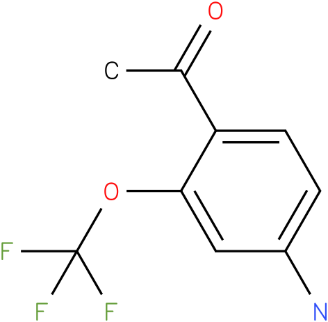 1-(4-Amino-2-trifluoromethoxy-phenyl)-ethanone