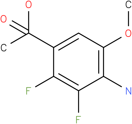 1-(4-Amino-2,3-difluoro-5-methoxy-phenyl)-acetic acid