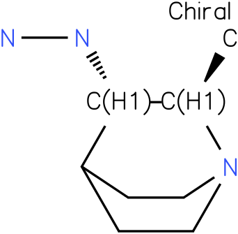 trans-(2-Methyl-1-aza-bicyclo[2.2.2]oct-3-yl)-hydrazine