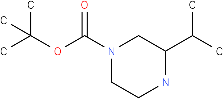 1-Boc- 3-isopropyl-piperazine