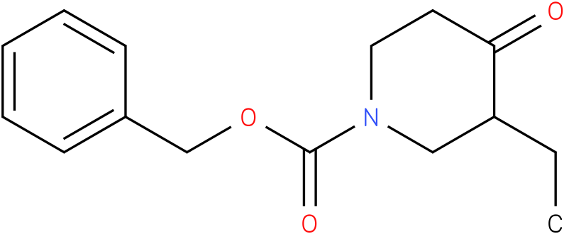 1-Cbz-3-ethyl-piperidin-4-one