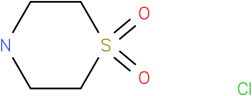 Thiomorpholine-1,1-oxide hydrochloride