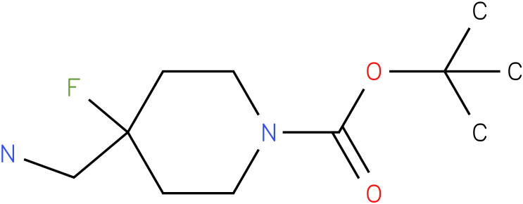 4-Aminomethyl-4-fluoro-piperidine-1-carboxylic acid tert-butyl ester