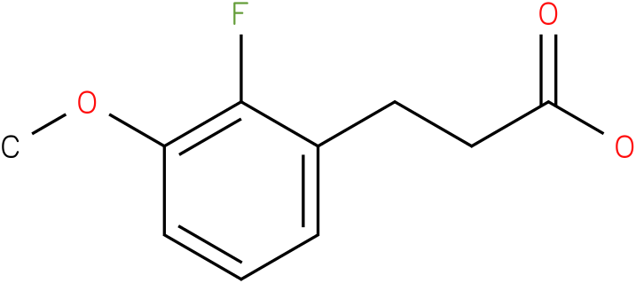 3-(2-Fluoro-3-methoxy-phenyl)-propionic acid