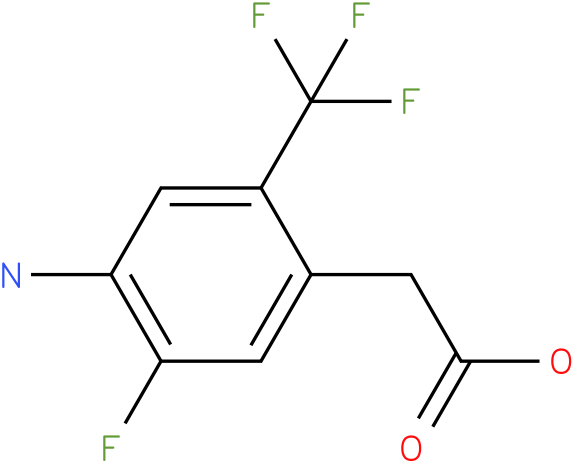 (4-Amino-5-fluoro-2-trifluoromethyl-phenyl)-acetic acid