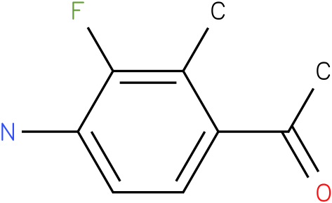 1-(4-Amino-3-fluoro-2-methyl-phenyl)-ethanone
