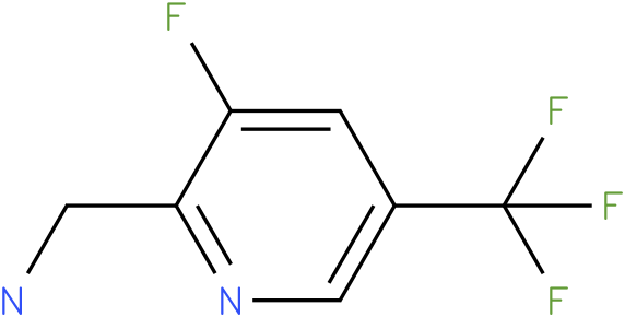 C-(3-Fluoro-5-trifluoromethyl-pyridin-2-yl)-methylamine