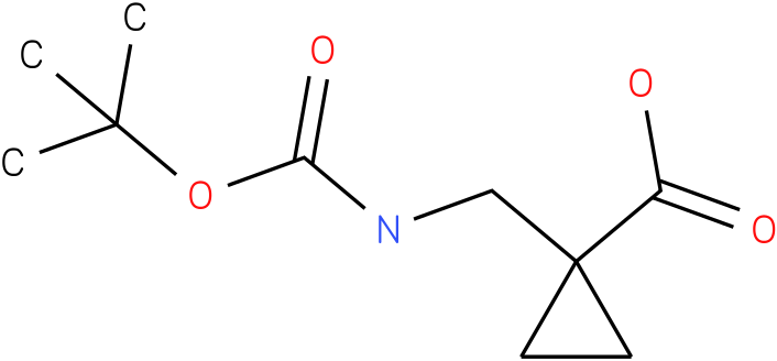 N-Boc-Aminomethylcyclopropyl-1-carboxylic acid