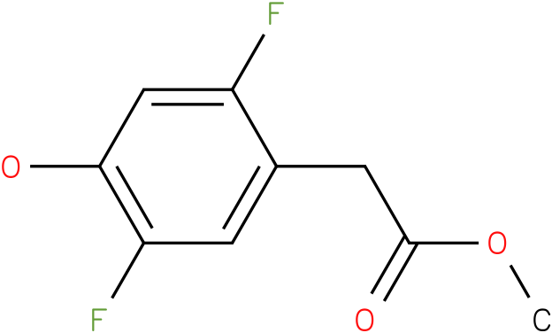 (2,5-Difluoro-4-hydroxy-phenyl)-acetic acid methyl ester