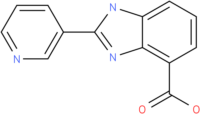 2-(pyridin-3-yl)-1H- benzo[d]imidazole-4 -carboxylic acid