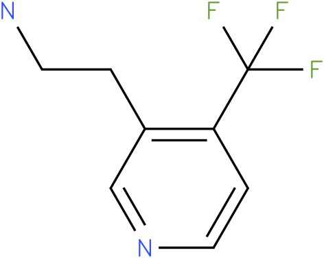 2-(4-Trifluoromethyl-pyridin-3-yl)-ethylamine