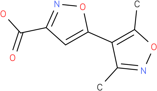 5-(3,5-dimethylisoxazol-4-yl)isoxazole-3-carboxylic acid
