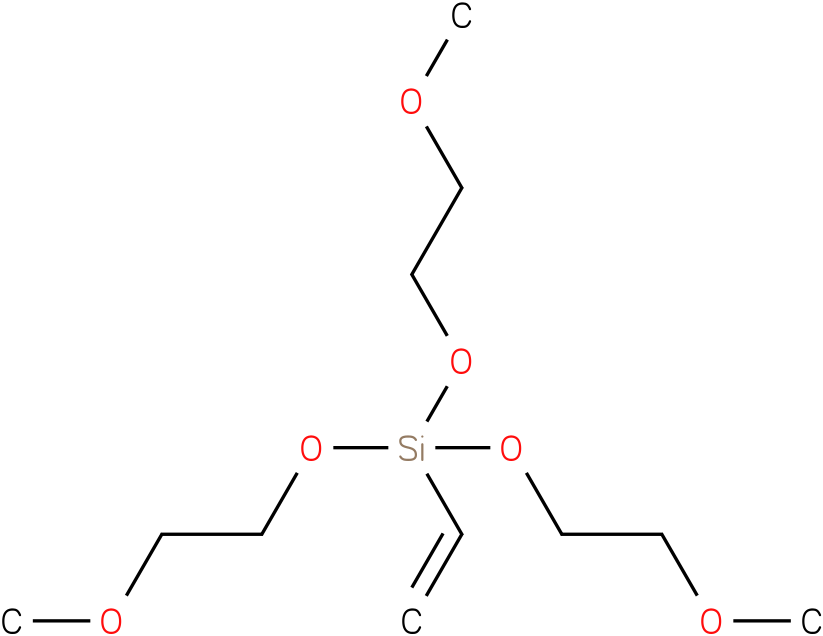Vinyl-tri-(2-methoxyethoxy)-silicane