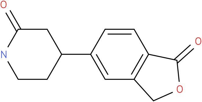 4-(1-oxo-1,3-dihydroisobenzofuran-5-yl)piperidin-2-one