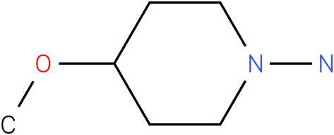4-Methoxy-piperidin-1-ylamine