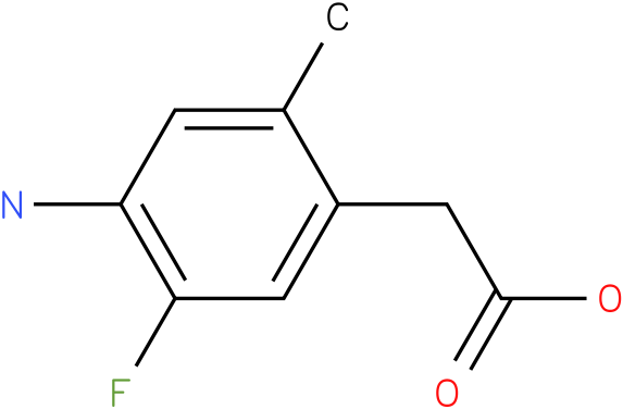 (4-Amino-5-fluoro-2-methyl-phenyl)-acetic acid