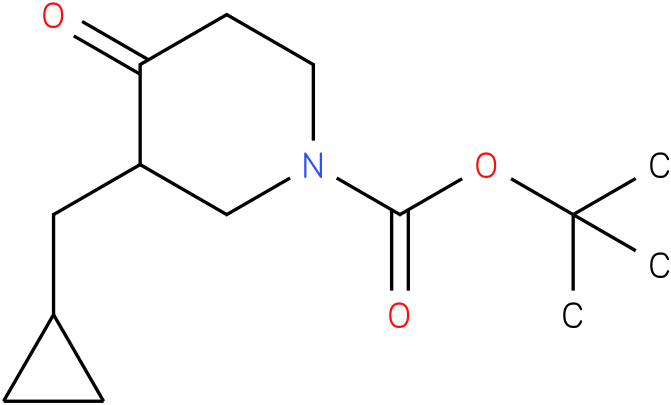 1-Boc-3-cyclopropylmethyl-piperidin-4-one