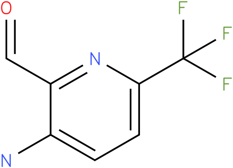 3-Amino-6-trifluoromethyl-pyridine-2-carbaldehyde