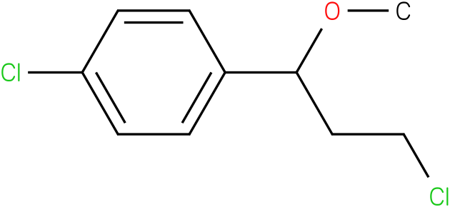 3-(4-chlorophenyl)-3-methoxypropyl chloride