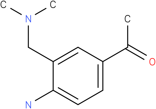 1-(4-Amino-3-dimethylaminomethyl-phenyl)-ethanone