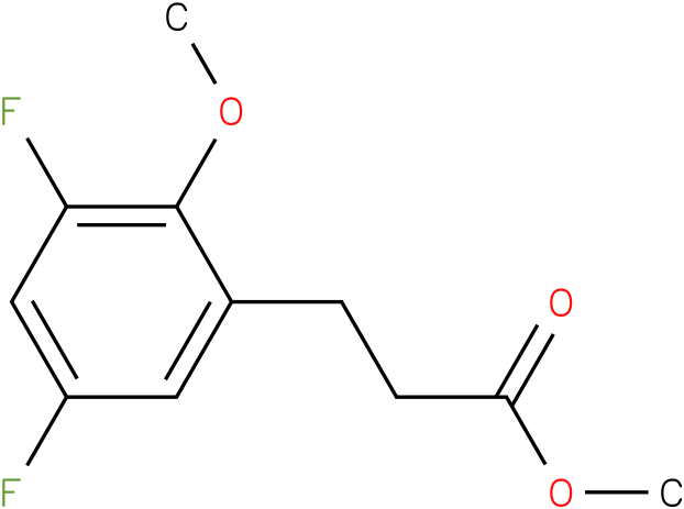 3-(3,5-Difluoro-2-methoxy-phenyl)-propionic acid methyl ester