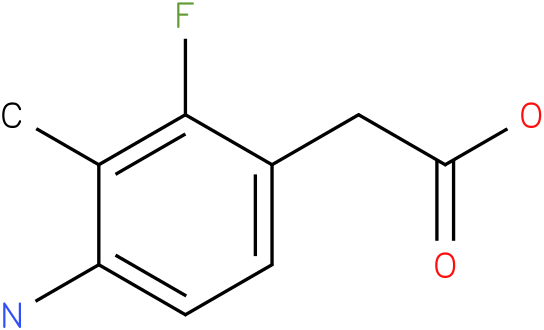 (4-Amino-2-fluoro-3-methyl-phenyl)-acetic acid