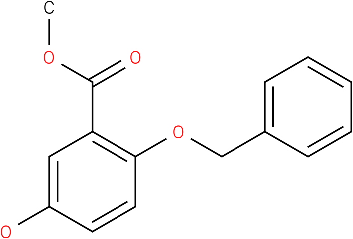 2-Benzyloxy-5-hydroxy-benzoic acid methyl ester
