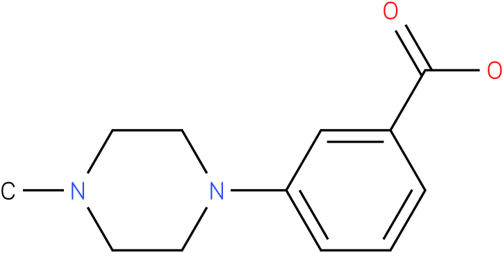 3-(4-methylpiperazin-1-yl)benzoic acid