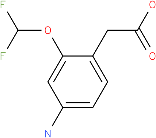(4-Amino-2-difluoromethoxy-phenyl)-acetic acid