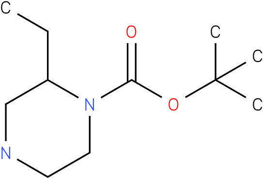 N-1-Boc-2-ethyl-piperazine