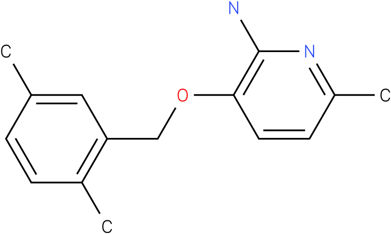 2-AMINO-3-(2,5-DIMETHYLBENZYLOXY)-6-METHYLPYRIDINE