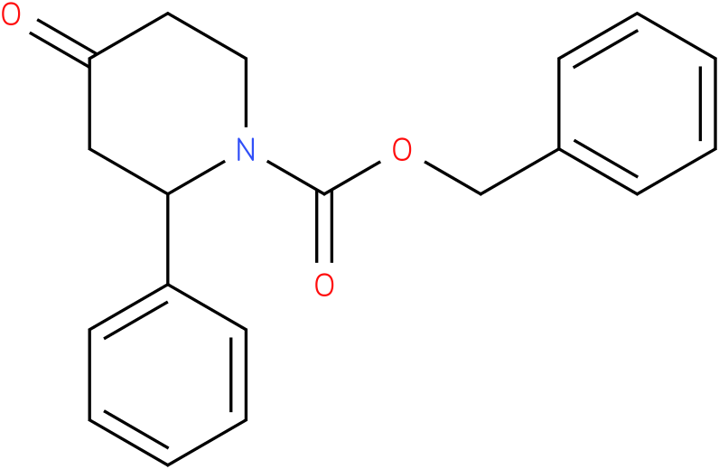 N-1-Cbz-2-phenyl piperidin-4-one