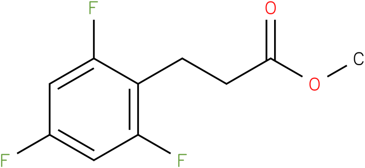 3-(2,4,6-Trifluoro-phenyl)-propionic acid methyl ester