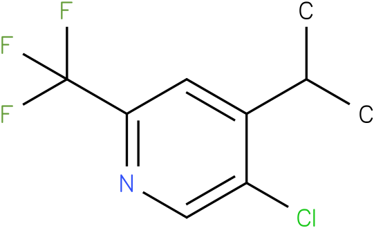 5-Chloro-4-isopropyl-2-trifluoromethyl-pyridine